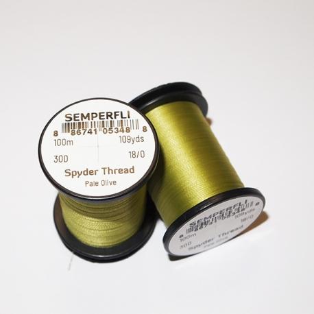 Semperfli 18/0 Spyder Thread Pale Olive