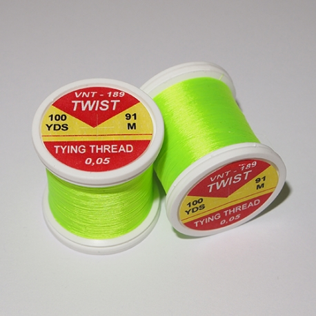 Hends Twist Threads / Fluo Green 189