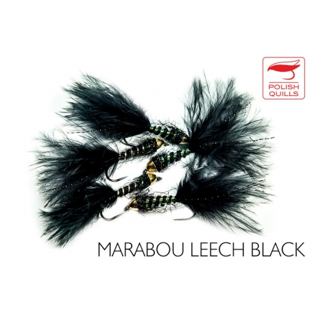 Marabou Leach Black