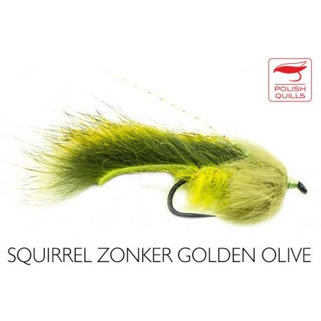 Squirrel Zonker Golden Olive