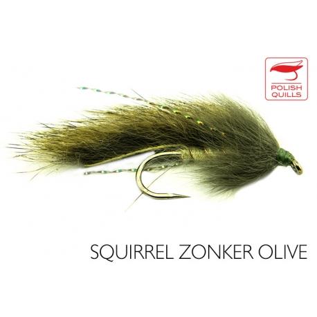 Squirrel Zonker Olive
