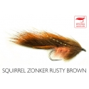 Squirrel Zonker Rusty Brown