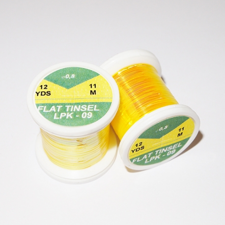 Hends Flat Tinsel / Pearl Yellow 05