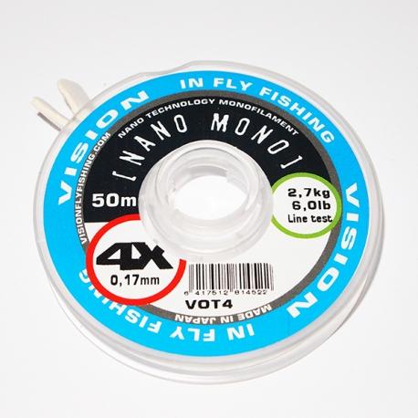 Vision Nano Mono Tippet 4X