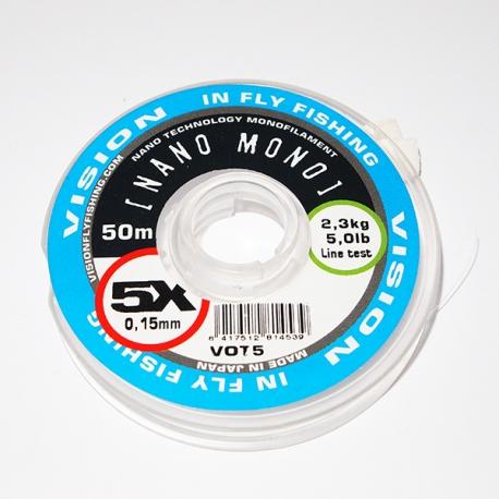 Vision Nano Mono Tippet 5X