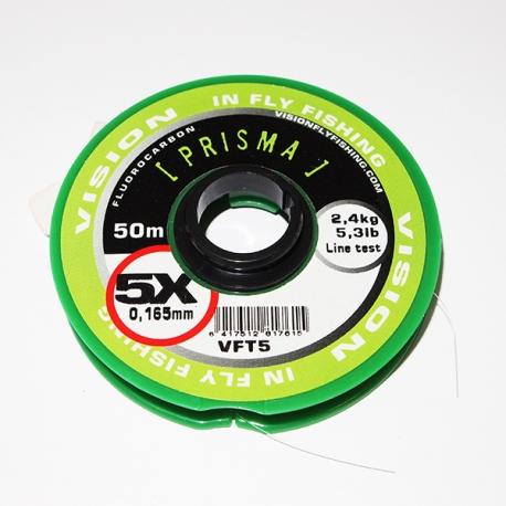 Vision Prisma Fluorocarbon Tippet 5X