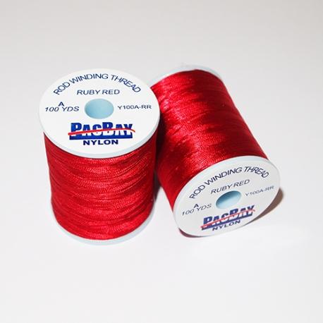 Pac Bay Nylon Winding Thread A Ruby Red