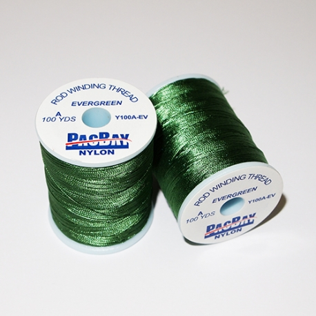 Pac Bay Nylon Winding Thread A Evergreen