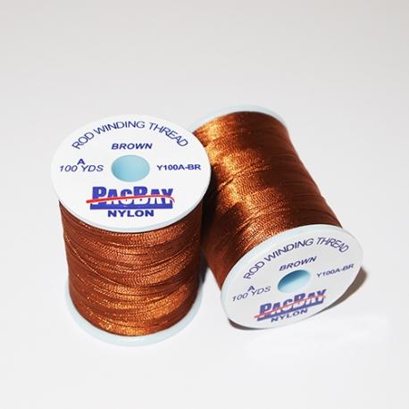 Pac Bay Nylon Winding Thread A Brown