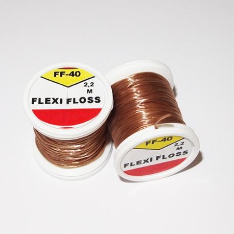 Hends Flexi Floss 40 / Light Brown