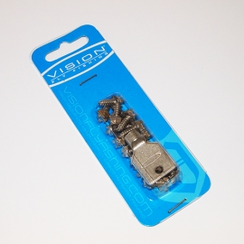 Vision Tungsten Boot Studs / 20pc + Tool