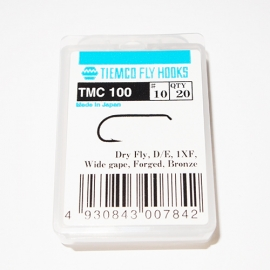Tiemco 100 Fly Hooks #10 / box 20pc