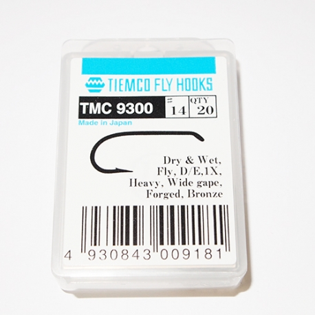 Tiemco 9300 Fly Hooks #14 / box 20pc