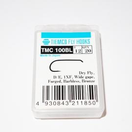 Tiemco 100 BL Fly Hooks #12