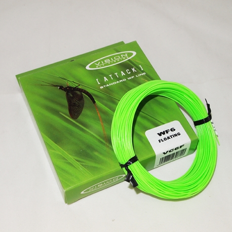 Vision Attack WF6F Fly Line