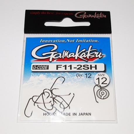 Gamakatsu F11 2SH Fly Hooks #12