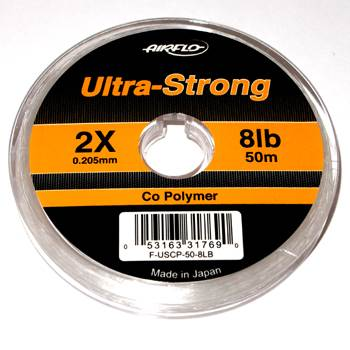 Airflo Ultra Strong Co-Polymer Tippet 2X / 0.20mm