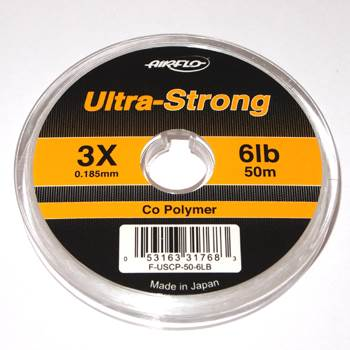 Airflo Ultra Strong Co-Polymer Tippet 3X / 0.18mm