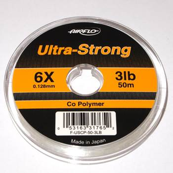 Airflo Ultra Strong Co-Polymer Tippet 7X / 0.10mm