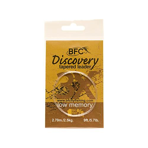 BFC Discovery Tapered Leader 3X / 9ft