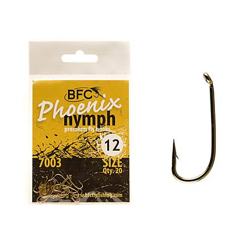 BFC Phoenix 7003 Nymph Hooks 20pc
