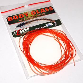 Hends Body Glass Half Micro 0.9mm / Orange 02