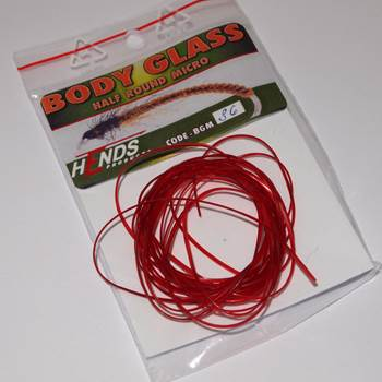 Hends Body Glass Half Micro 0.9mm / Wine Red 36