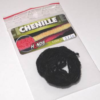Hends Chenille / Black 2220