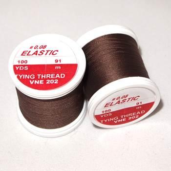 Hends Elastic Thread / Dark Brown 202