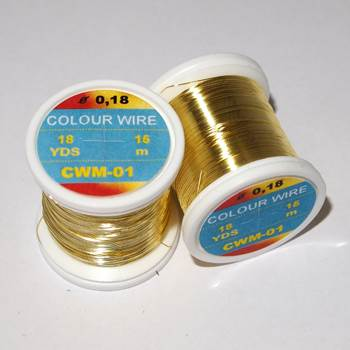 Hends Wire 0.18mm / Gold
