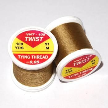 Hends Twist Threads / Light Brown 105