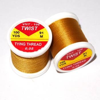 Hends Twist Threads / Golden Yellow 106