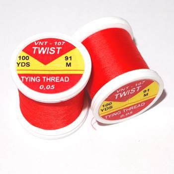 Hends Twist Threads / Red 107