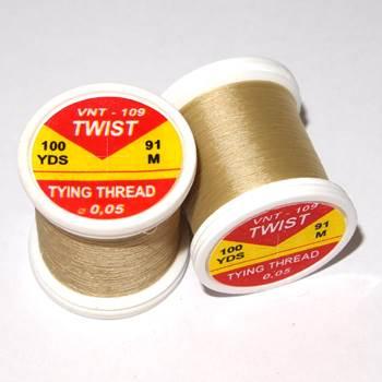 Hends Twist Threads / Light Yellow Brown 109