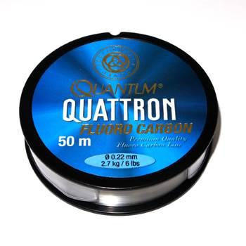 Quantum Quattron 100% Fluorocarbon 0.22mm / 50m