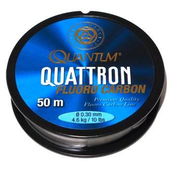 Quantum Quattron 100% Fluorocarbon 0.30mm / 50m