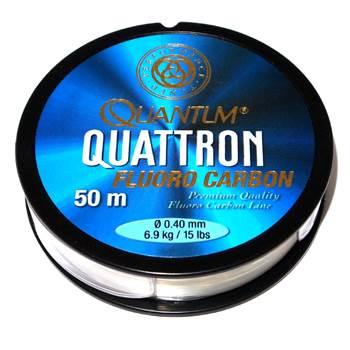 Quantum Quattron 100% Fluorocarbon 0.40mm / 50m