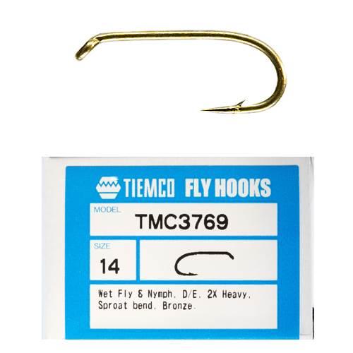 Tiemco 3769 Fly Hooks
