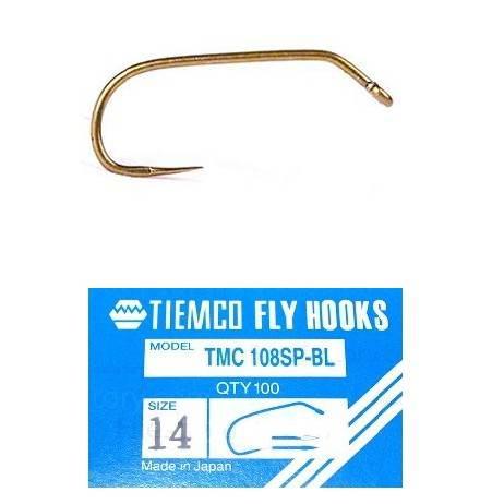 Tiemco 108SP BL Fly Hooks